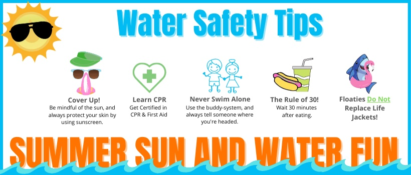 Water Safety Tips & Reminders